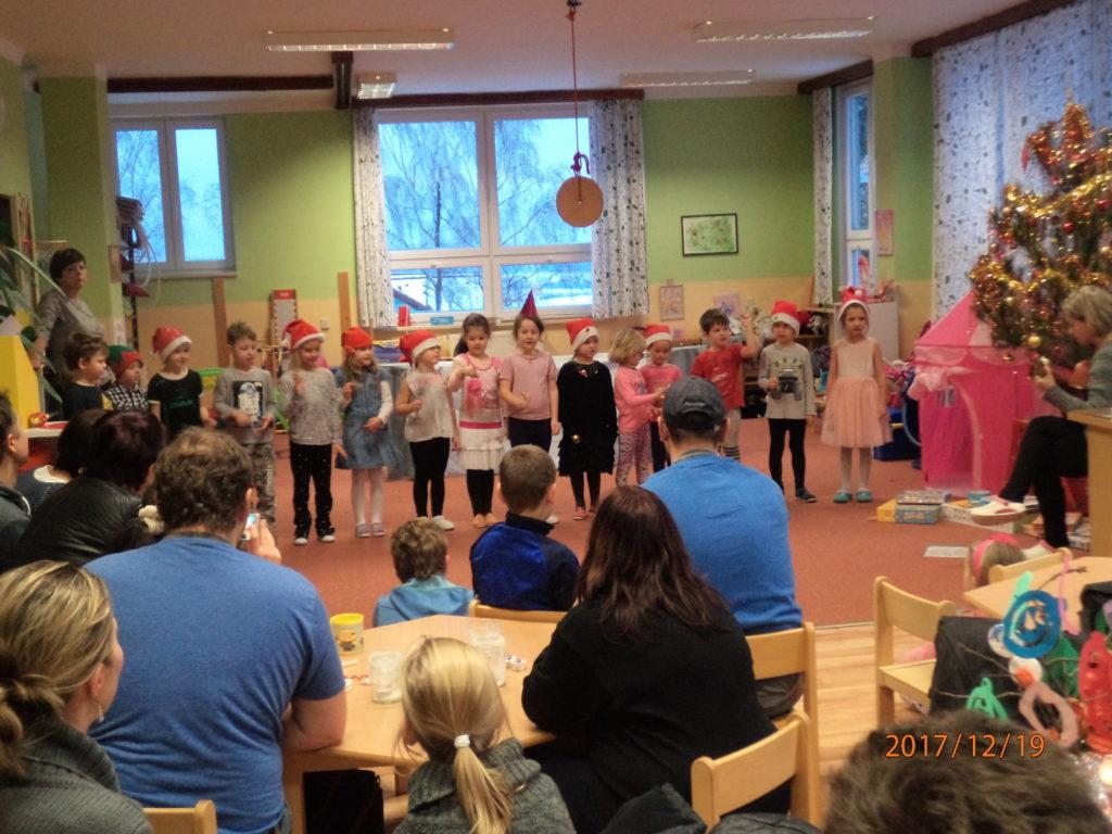 MŠ-Vánoční posezení v 2. třídě