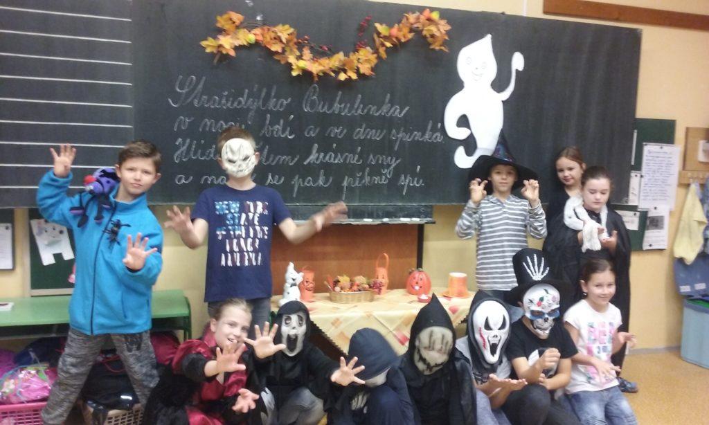 Halloween ve třetí třídě